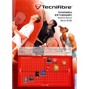 Tecnifibre テクニファイバー 「POLYESTER Range PRO REDCODE 120/125/130 プロ レッドコード 200mロール 」テニスストリング ガット|kpi24|03