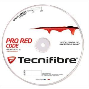 「新パッケージ」Tecnifibre テクニファイバー 「PRO REDCODE プロ レッドコード  200mロール TFR500」硬式テニスストリング ガット  『即日出荷』|kpi24