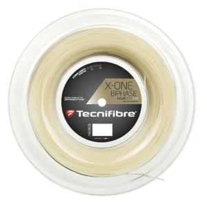 Tecnifibre テクニファイバー 「X-ONE BIPHASE エックスワン バイフェイズ  200mロール TFR901」硬式テニスストリング ガット  『即日出荷』|kpi24