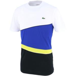 テニスウェア メンズ ラコステ LACOSTE TEE & TURTLE NECK SHIRTS TH2129 カジュアルTシャツ 2017SS 即日出荷 2017新製品|kpi24