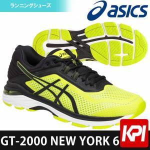 アシックス asics ランニングシューズ メンズ GT-2000 NEW YORK 6 TJG977-8990|kpi24