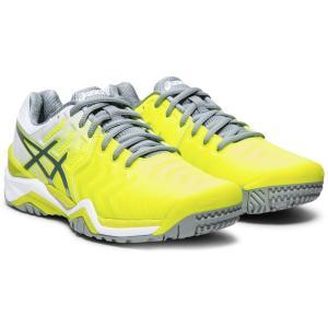 アシックス asics テニスシューズ レディース LADY GEL-RESOLUTION 7 OC オムニ・クレーコート用 TLL787-750 7月下旬発売予定※予約|kpi24