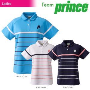 プリンス Prince テニスウェア レディース ゲームシャツ TML163T 2018SS|kpi24