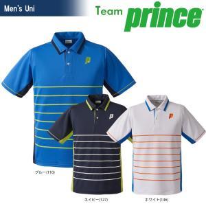 プリンス Prince テニスウェア ユニセックス ゲームシャツ TMU160T 2018SS|kpi24