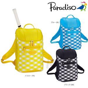 PARADISO(パラディーゾ)「SSチェック チェックバックパック16SS TRA612」テニスバッグ「KPI」|kpi24