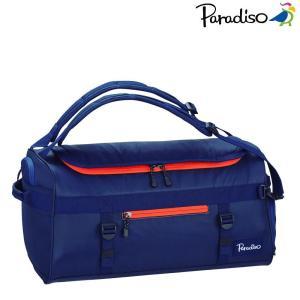 パラディーゾ PARADISO テニスバッグ・ケース  アクティブネイビースポーツバッグ TRA805|kpi24