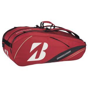 「ブリヂストンフェア」「2014新製品」BRIDGESTONE(ブリヂストン)「ラケットバッグ10(ラケット10本収納可) TRB411」テニスバッグ|kpi24