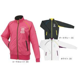 テニスウェア レディース ゴーセン GOSEN ライトソフトジャケット UW1301 FW|kpi24