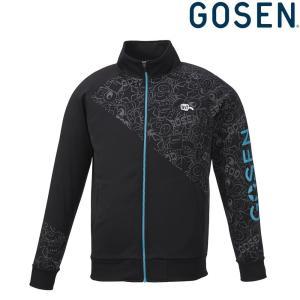 ゴーセン GOSEN テニスウェア ユニセックス 裏起毛ストレッチジャケット UW1800 2018FW|kpi24