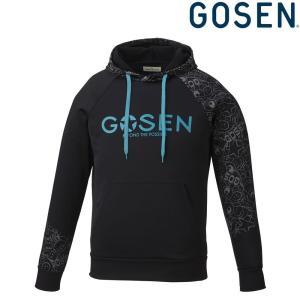 ゴーセン GOSEN テニスウェア ユニセックス 裏起毛ストレッチパーカー UW1802 2018FW|kpi24