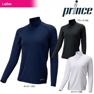 テニスウェア レディース プリンス Prince スタイリングインナー ロングスリーブシャツ UW820 2017FW|kpi24