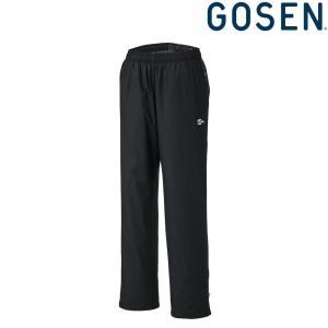 ゴーセン GOSEN テニスウェア ユニセックス ウィンドウォーマーパンツ 裏起毛  UY1802 2018FW|kpi24