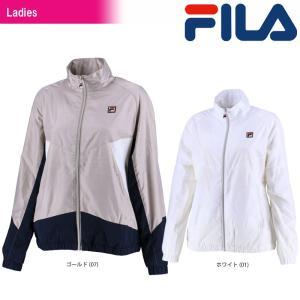テニスウェア レディース フィラ FILA ウインドアップジャケット VL1769 2018SS|kpi24