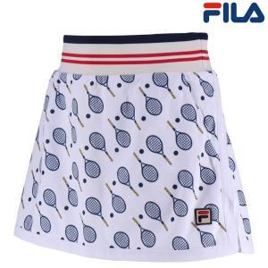 フィラ FILA テニスウェア レディース スコート VL1859 2018FW|kpi24