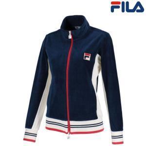 フィラ FILA テニスウェア レディース トラックジャケット VL1869 2018FW|kpi24