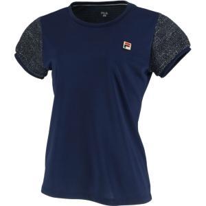 フィラ FILA テニスウェア レディース ゲームシャツ VL2018 2019FW [ポスト投函便対応]|kpi24|02