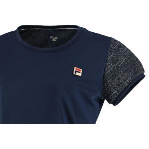 フィラ FILA テニスウェア レディース ゲームシャツ VL2018 2019FW [ポスト投函便対応]|kpi24|03