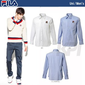 『即日出荷』「均一セール」FILA フィラ 「MEN'S シャツ VM1023」テニスウェア「FW」|kpi24