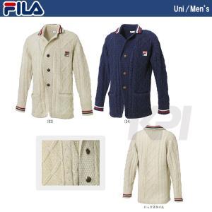 『即日出荷』FILA フィラ 「MEN'S チルデンジャケット VM1024」テニスウェア「FW」|kpi24
