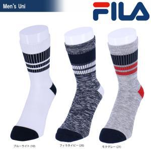 フィラ FILA テニスウェア メンズ ショートソックス VM9657 2018SS|kpi24