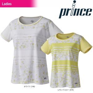 プリンス Prince テニスウェア レディース ゲームシャツ WL8044 2018SS 『即日出荷』 kpi24