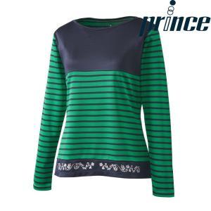 プリンス Prince テニスウェア レディース ロングスリーブシャツ WL8087 2018FW|kpi24