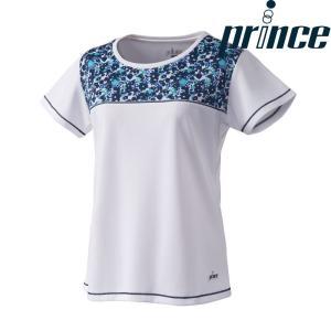 プリンス Prince テニスウェア レディース ゲームシャツ WL8093 2018FW|kpi24