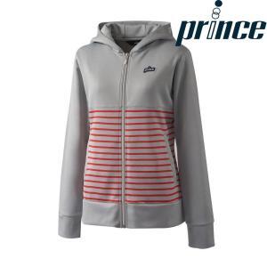 プリンス Prince テニスウェア レディース フーデッドジャケット WL8156 2018FW kpi24