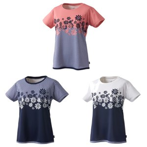 プリンス Prince テニスウェア レディース ゲームシャツ WL9044 2019SS|kpi24