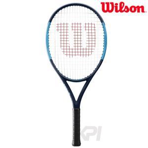 「2017新製品」「ガット張り上げ済」Wilson ウィルソン 「ULTRA 25 ウルトラ 25  WRT534200」ジュニアテニスラケット|kpi24