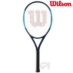 「2017新製品」「ガット張り上げ済」Wilson ウィルソン 「ULTRA 26 ウルトラ 26  WRT534300」ジュニアテニスラケット|kpi24
