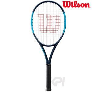 「2017新製品Wilson ウイルソン 「ULTRA 100 UL ウルトラ100UL  WRT737520」硬式テニスラケット kpi24