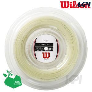Wilson ウイルソン 「NXT 16 REEL 200mロールガット WRZ912700」硬式テニスストリング ガット  『即日出荷』|kpi24