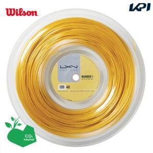 LUXILON ルキシロン 「LUXILON 4G 130 200mロール WRZ990142」硬式テニスストリング ガット 『即日出荷』|kpi24