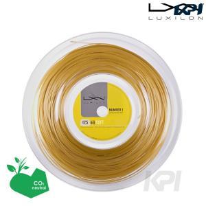 LUXILON ルキシロン 「4G Soft 4Gソフト  1.25 200mロール WRZ990143」硬式テニスストリング ガット|kpi24