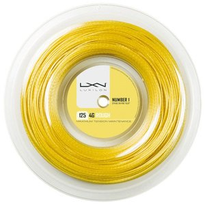 LUXILON ルキシロン 「LUXILON 4G ROUGH 125  4Gラフ  200mロール WRZ990144」硬式テニスストリング ガット 『即日出荷』|kpi24