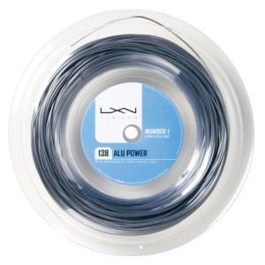 『即日出荷』LUXILON ルキシロン 「ALU POWER 138  アルパワー138  200mロール WRZ990170」硬式テニスストリング ガット|kpi24