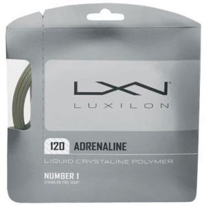 『即日出荷』 LUXILON ルキシロン 「ADRENALINE 120 アドレナリン 120 」硬式テニスストリング ガット|kpi24