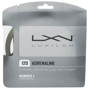 『即日出荷』 「■5張セット」LUXILON(ルキシロン)「ADRENALINE 120(アドレナリン 120)」硬式テニスストリング(ガット)|kpi24
