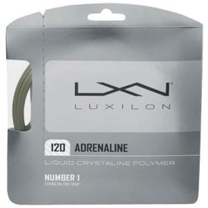 『即日出荷』『即日出荷』 LUXILON(ルキシロン)「ADRENALINE 120(アドレナリン 120)」硬式テニスストリング(ガット)|kpi24