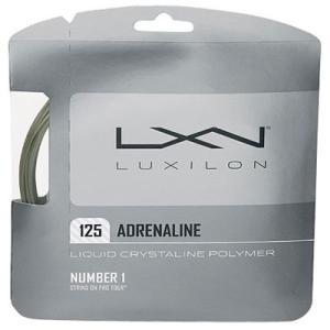 「■5張セット」LUXILON ルキシロン 「ADRENALINE 125 アドレナリン 125 」硬式テニスストリング ガット|kpi24
