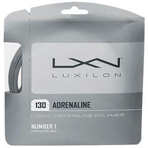 『即日出荷』 「■5張セット」LUXILON(ルキシロン)「ADRENALINE 130(アドレナリン 130)」硬式テニスストリング(ガット)|kpi24