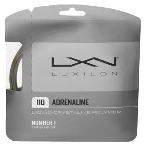 『即日出荷』 「■5張セット」LUXILON(ルキシロン)「ADRENALINE 110(アドレナリン 110)WRZ994100」硬式テニスストリング|kpi24