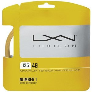 LUXILON(ルキシロン)「LUXILON 4G 125 WRZ997110」硬式テニスストリング(ガット)|kpi24