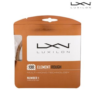 ルキシロン LUXILON テニスガット・ストリング  Element ROUGH 1.30 エレメントラフ WRZ997130『即日出荷』[ネコポス可]|kpi24