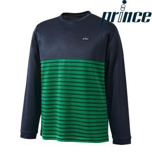 プリンス Prince テニスウェア ユニセックス ロングスリーブシャツ WU8030 2018FW kpi24