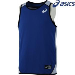 アシックス asics バスケットウェア ユニセックス リバーシブルシャツ XB6634-5001 2018SS|kpi24