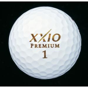 ダンロップ DUNLOP ゴルフボール  ゼクシオ プレミアム 12球入 XXP5GL-12|kpi24