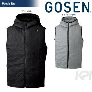 GOSEN ゴーセン 「UNI アイダーウォームスベスト Y1614」テニスウェア「FW」|kpi24