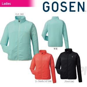 GOSEN ゴーセン 「レディース ライトウインドジャケット Y1701」テニスウェア「2017SS」|kpi24